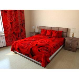 Покрывало Красные розы