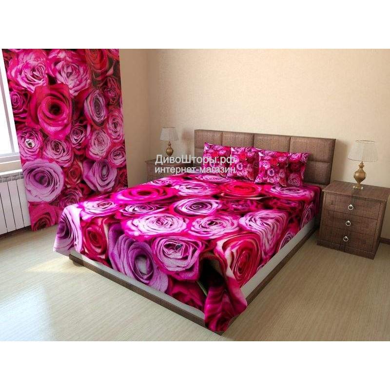 Покрывало Розовые розы