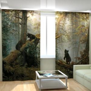 Фотошторы Мишки в лесу