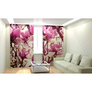 Фотошторы Цветочное дерево