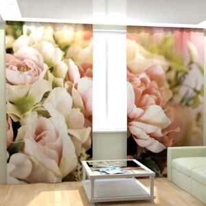 Фотошторы Цветы свежести
