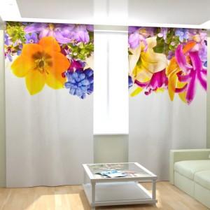 Фотошторы Красивые цветы