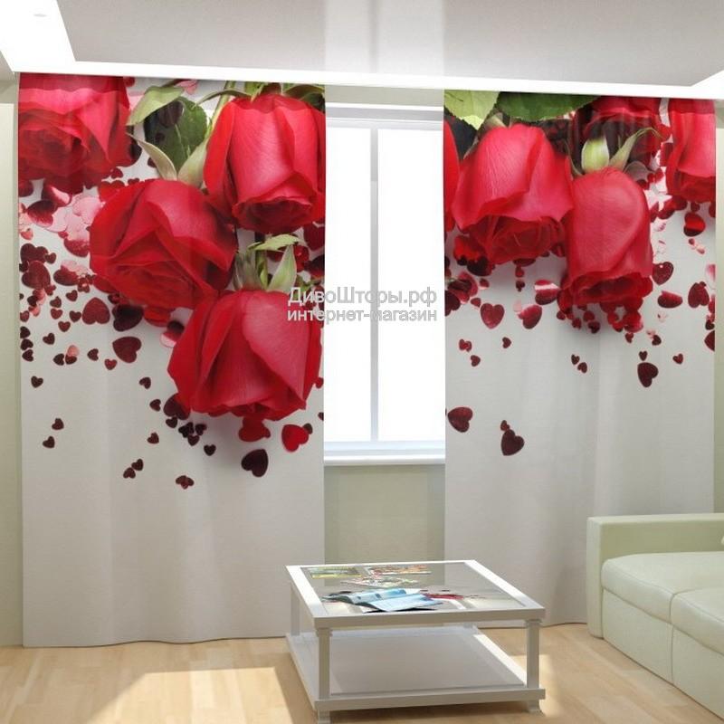 Фотошторы Праздничные розы