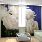 Фотошторы Снежные розы