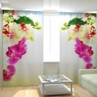 Фотошторы Веточка орхидеи