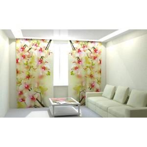 Фотошторы Воздушные орхидеи