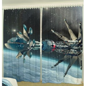 Фотошторы Орбитальная станция