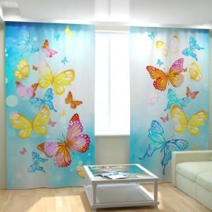 Фотошторы Веселые бабочки