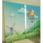 Фотошторы Воздушный шар 2
