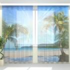 Фототюль Солнечные пальмы