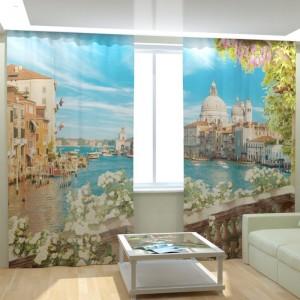 Фотошторы Балкон в Венеции
