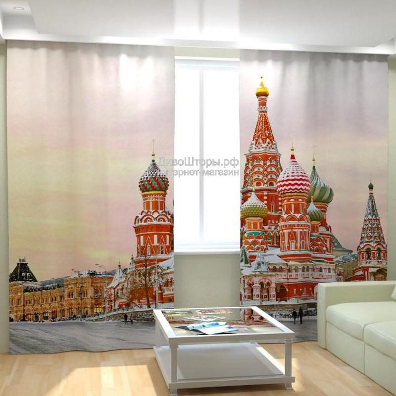 Фотошторы Храм Василия Блаженного