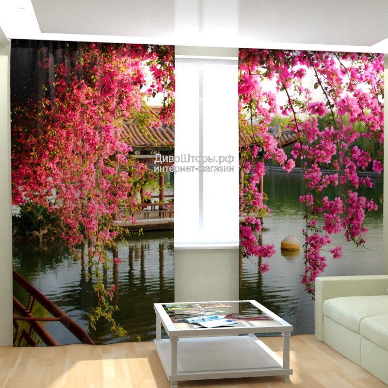 Фотошторы Китайский сад