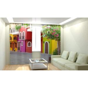 Фотошторы Красочный дом