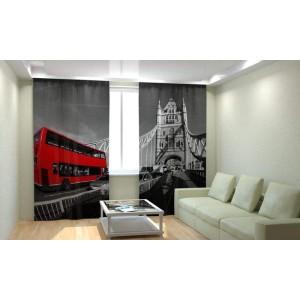 Фотошторы Лондонский автобус