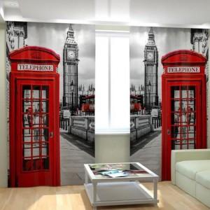 Фотошторы Лондонский телефон
