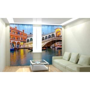 Фотошторы Мост в Венеции
