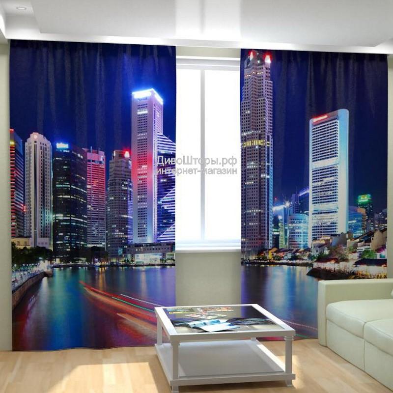 Фотошторы Небоскребы Китая
