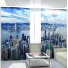 Фотошторы Нью-Йорк с высоты