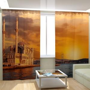 Фотошторы Закат в Турции