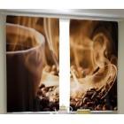 Фотошторы Ароматный кофе