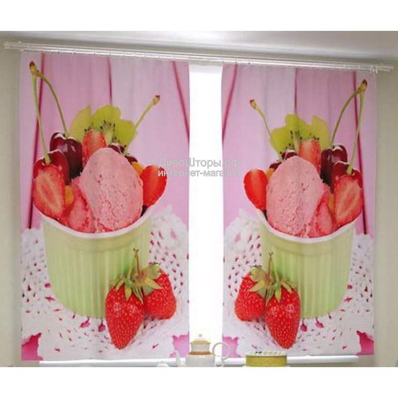 Фотошторы Фруктовое мороженое