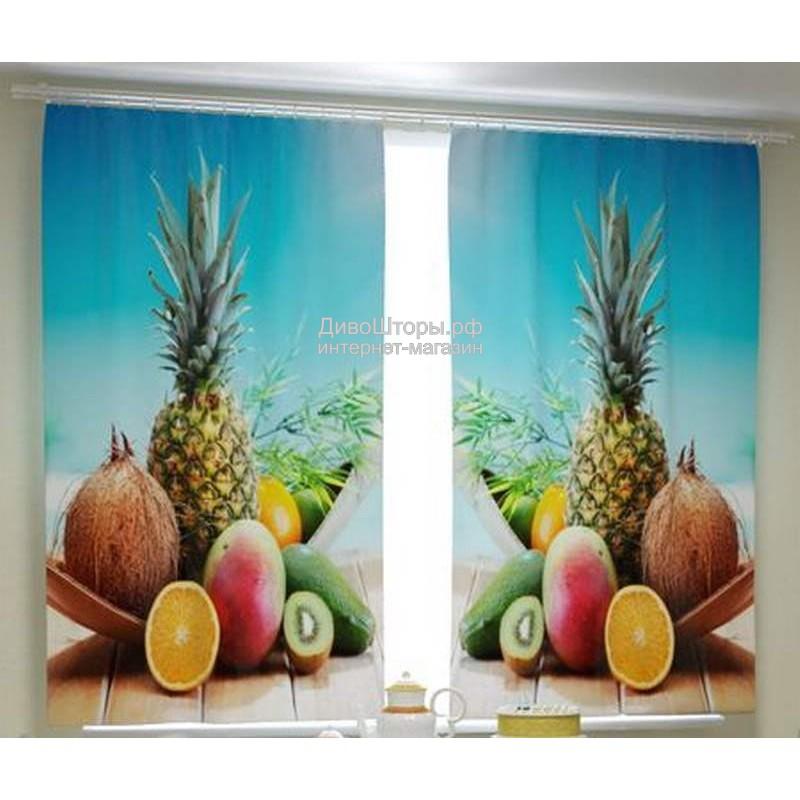 Фотошторы Свежие фрукты