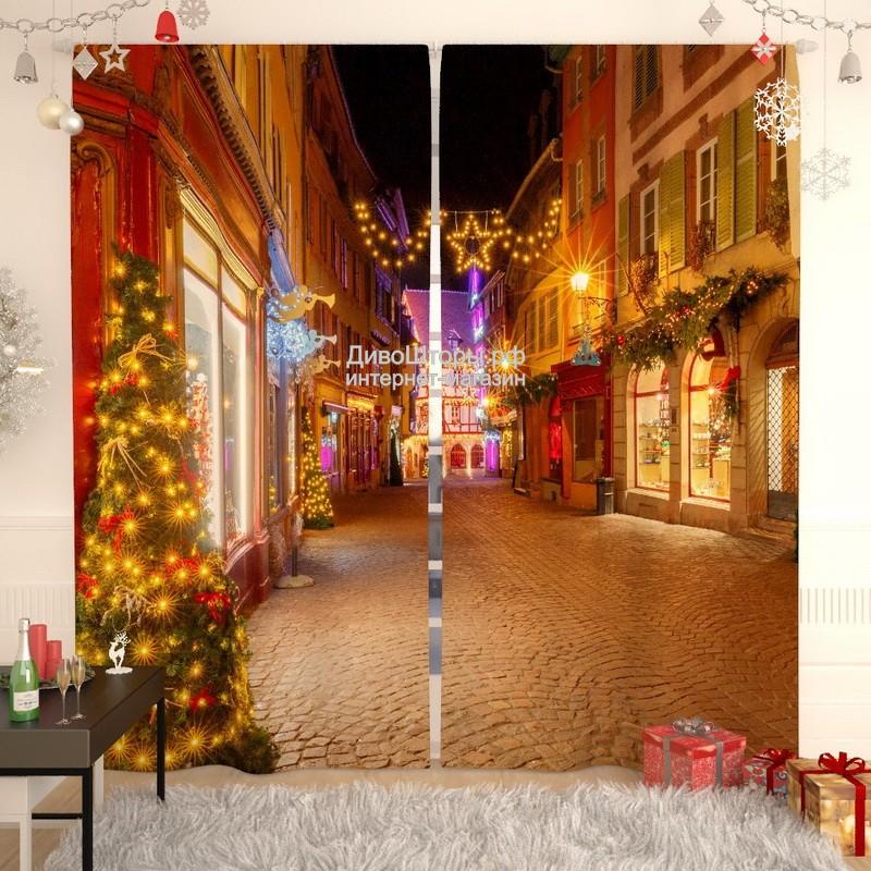 Фотошторы Европейское Рождество