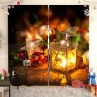 Фотошторы Новогодний фонарь-2