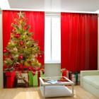 Фотошторы Подарки под елкой