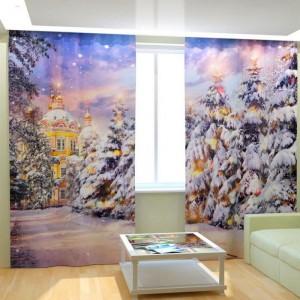 Фотошторы Рождественский Храм