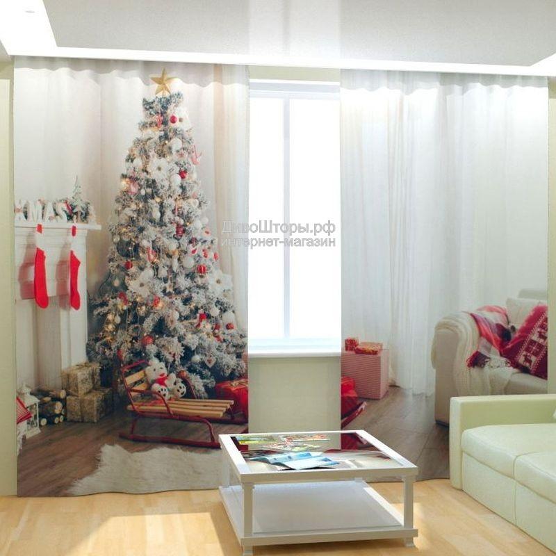 Фотошторы Скандинавское Рождество