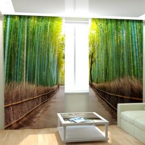 Фотошторы Бамбуковый лес