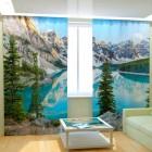 Фотошторы Горное озеро
