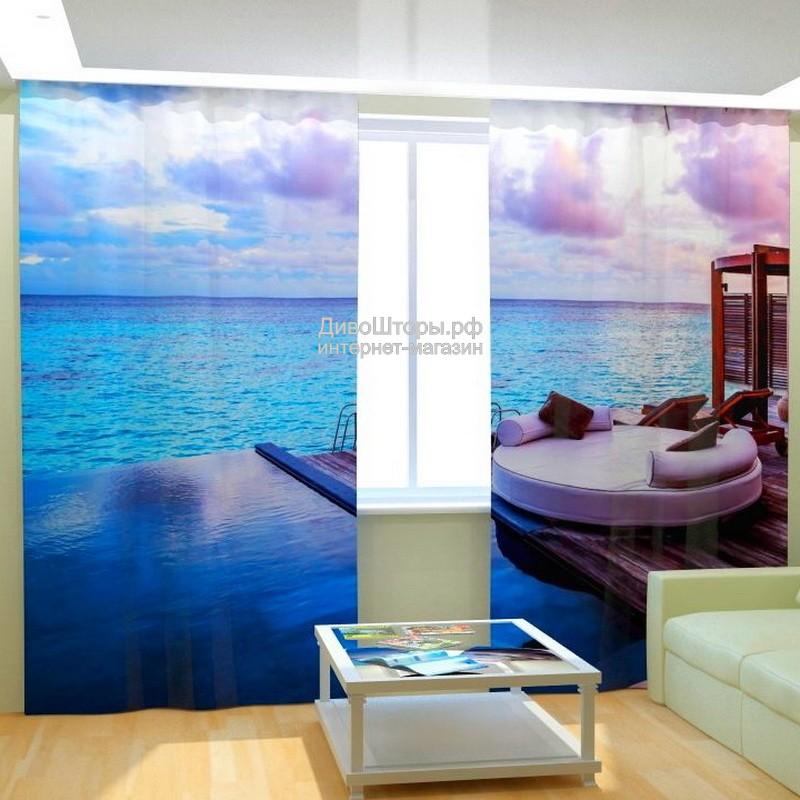 Фотошторы Курорт у моря