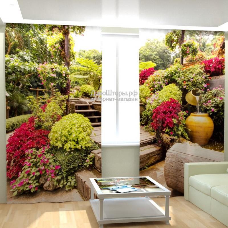 Фотошторы Прекрасный сад