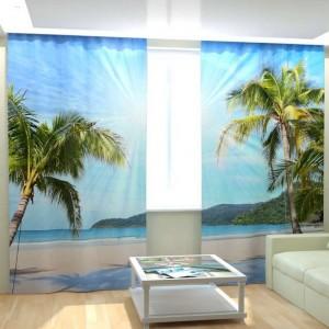 Фотошторы Солнечные пальмы