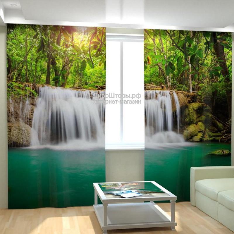 Фотошторы Водопад