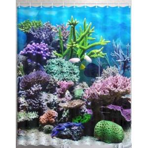 Штора для ванной Морские глубины