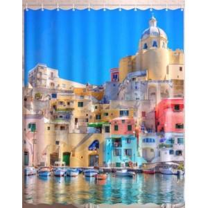 Штора для ванной Неаполь