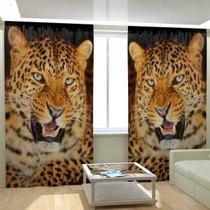Фотошторы Леопард 2