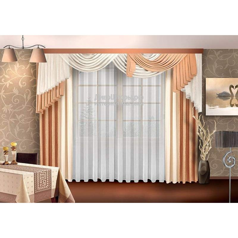 Шторы для гостиной/спальни Дебора