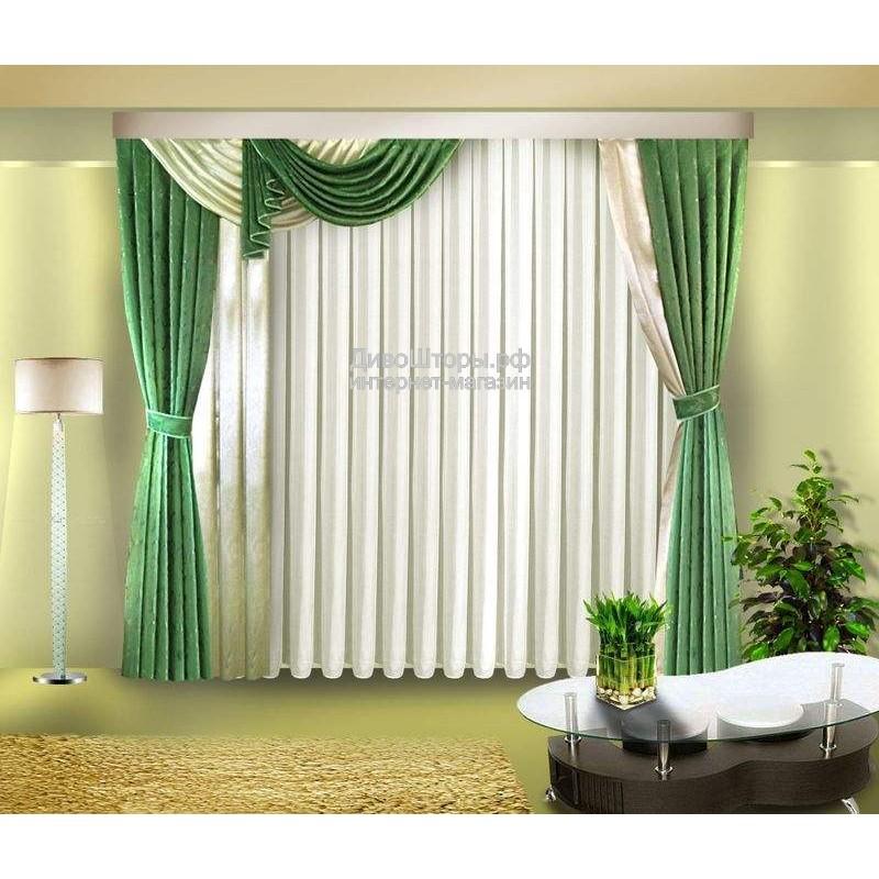 Шторы для гостиной/спальни Доминикана
