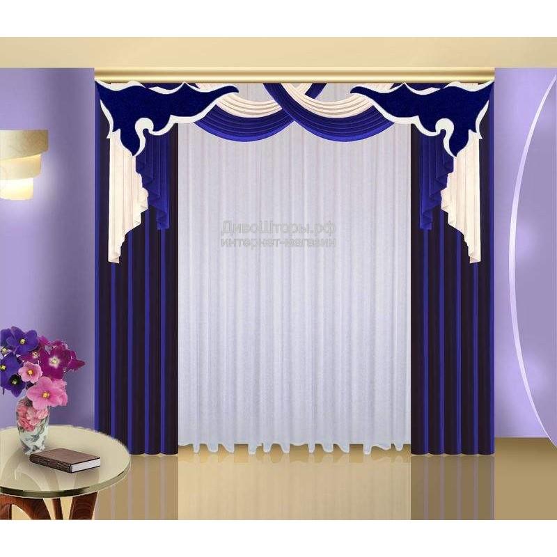 Шторы для гостиной/спальни Гинура