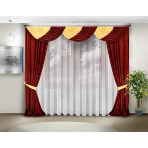 Шторы для гостиной/спальни Исида
