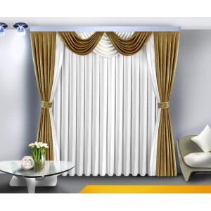 Шторы для гостиной/спальни Каллисто