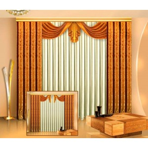 Шторы для гостиной/спальни Лада