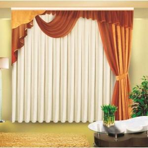 Шторы для гостиной/спальни Олимпия