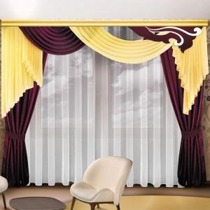 Шторы для гостиной/спальни Сангвина